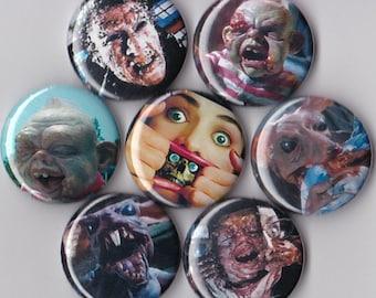 7 Dead Alive Pinback Buttons