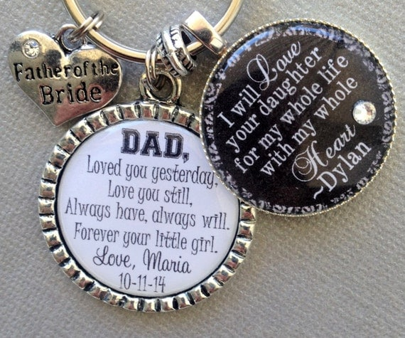 Bride Gift Father Of The Sayings: FATHER Of The BRIDE PERSONALIZED Gift Father Of Groom By