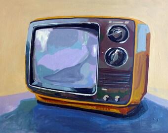 TV painting Print