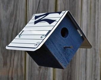 New York Yankees Birdhouse - Baseball - New York Yankees - Rustic Birdhouse