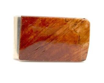 Handmade Money Clip Australian Coolibah Burl Wood