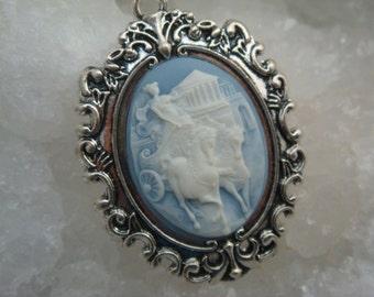 Athena Cameo Necklace