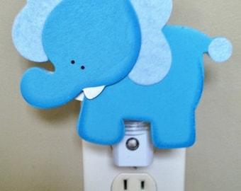 Elephant Night Light, Jungle Night Light, Safari Night Light, Elephant