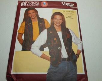 Vest Pattern Uncut Sewing Pattern  Many Versions