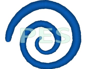 Spiral Embroidery Design in 4 Sizes & Chakra JUMBO combo - pes files