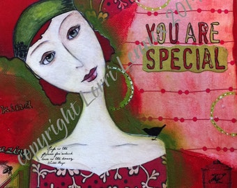 You are special - DIGITAL file