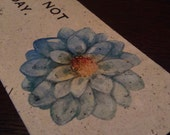 Competely Junk Mail ~ Handmade Paper ~ Inspirational Bookmark 5