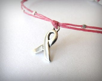 Breast Cancer Awareness - Mary Bracelet 2 - proceeds go to The Avon Foundation for Women