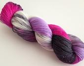 Dyed to Order - Rocker Girl - Superwash Merino Worsted, DK or Fingering Sock Yarn  - Vivid Yarn Studio
