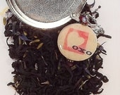 French Kissed Earl Grey - Lavender Earl Grey Tea - Lavender Tea - Black Tea - Loose Leaf Tea - Earl Grey Tea