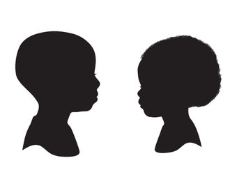 Two Custom Silhouette Prints