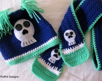 Toddler Hat and Scarf Gift Set New