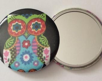 Pocket Mirror - Adorable OWL