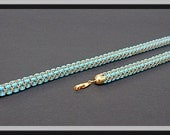 Super Duo Square Rope. Beaded Tutorial.