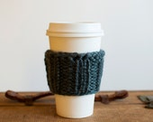 Travel Coffee Mug Cozy + You Choose the Color