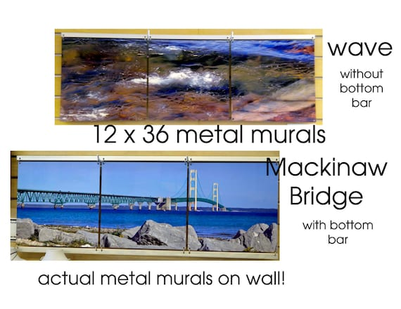 12 x 36 mural custom metal photo art high definition by for Definition of mural