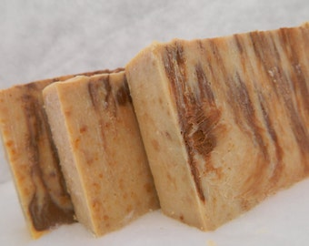 Chocolate Amber Goats Milk Soap