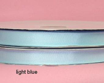 5/8 x 50 yds GROSGRAIN RIBBON - Light Blue   Save 25%