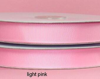 5/8 x 50 yds GROSGRAIN RIBBON - Light Pink   Save 25%