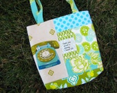 Speak Patchwork Scripture Tote Bag Bible Bag ready to ship