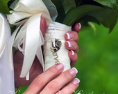 Custom Bouquet Locket, Custom Bouquet Charm, Fanciful Bouquet Accessory