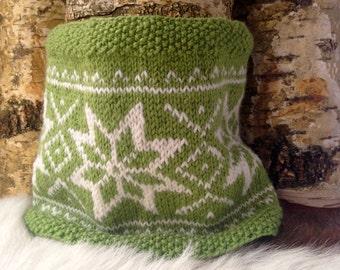 Starry Cowl PDF Knitting Pattern