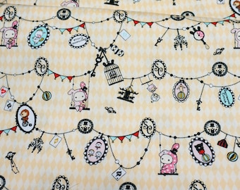 Kawaii Sentimental Circus  Half meter 50 cm by 106 cm or 19.6 by 42 inches (HAKO18A)