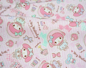 1 meter Sanrio fabric my melody