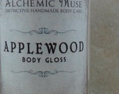 Applewood - Body Gloss - Orchard Apple, Buttery Caramel, Smoky Vanilla - Limited Edition