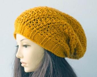 Easy Fast Crochet Slouchy Hat Pattern, Slouchy Beanie Crochet Pattern,  Instant Download, Hat PDF Pattern, Hat Crochet Pattern