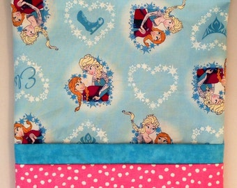 Frozen  PERSONALIZED embroidered Pillowcase Hand made Standard Size