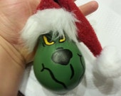 The Grinch Handpainted Lightbulb character