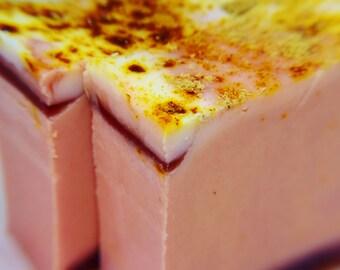 SOAP- Pumpkin Harvest Handmade Soap, Pumpkin Soap, Holiday Soap, Fall Soap, Vegan Soap