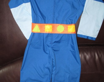 Team Umizoomi Geo costume  with boot covers