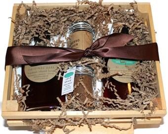 Artisan Foodie Coffee Gourmet Gift Crate