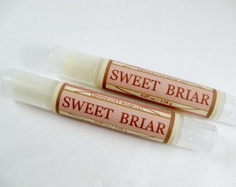 Sweet Briar Perfume, Solid Perfume, Perfume Stick, Perfume Tube, Phthalate Free, Solid Fragrance, Travel Friendly Perfume, Women's Gift