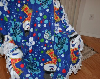 Frosty the Snowman Fleece Throws