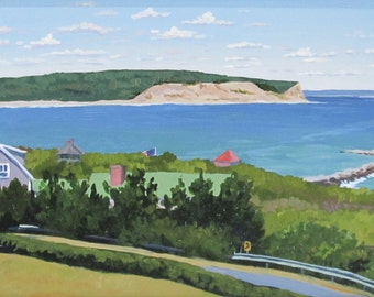 View from the Spring House on Block Island