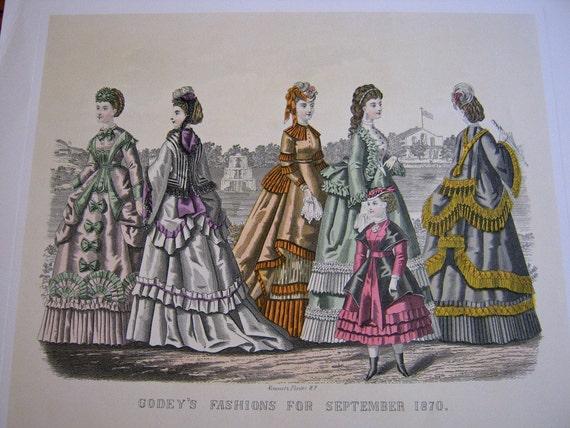Vintage Fashion Prints McCall's Centennial Portfolio of