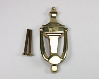Vintage solid brass Metal Door Knocker
