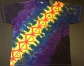 Tie Dye Shirt, Tshirt, Klink In The Dark, Size XL, Extra Large