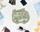 Road Trip Vibes Felt Patch - Made in USA