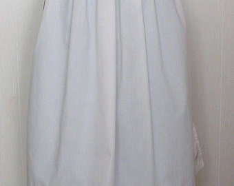 Womans  Pioneer Clothing Trek Clothing  Apron White Apron  Ready to Ship
