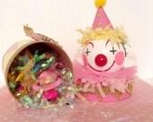 Pink/Yellow Circus Party Birthday Box