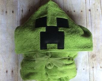 Creeper Hooded Towel