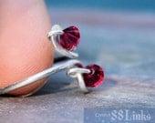 Ruby Toe Ring July Birthstone Jewelry