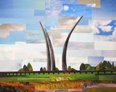 "Air Force Memorial, 10""x7.5"" PRINT"