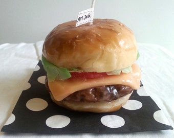 BACK IN STOCK Few Of A Kind Burger Candle