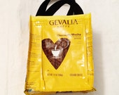 Fun Eco Friendly Purse made with Recycled Gevalia Coffee bags upcycled repurposed