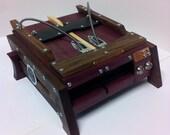 Steampunk Playstation 4 Case Enclosure - Custom Sony Playstation 4 Case Mod